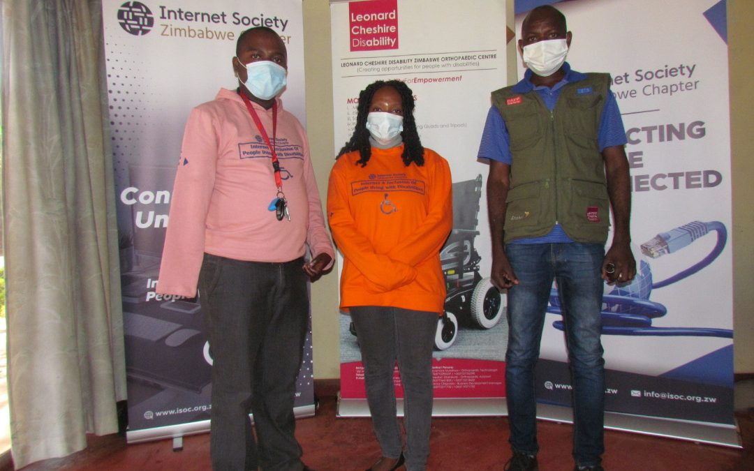 ISOC Zimbabwe Calls for the Inclusion of Persons with Disability in the Digital Economy